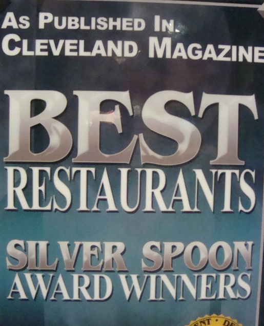 Cleve. Mag. Best Restaurants