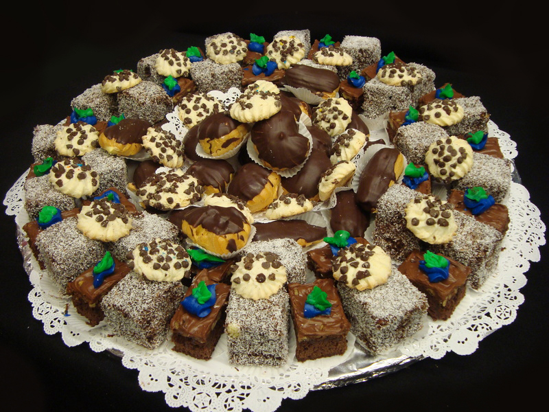 Chocolate Pastry & Cookie Tray